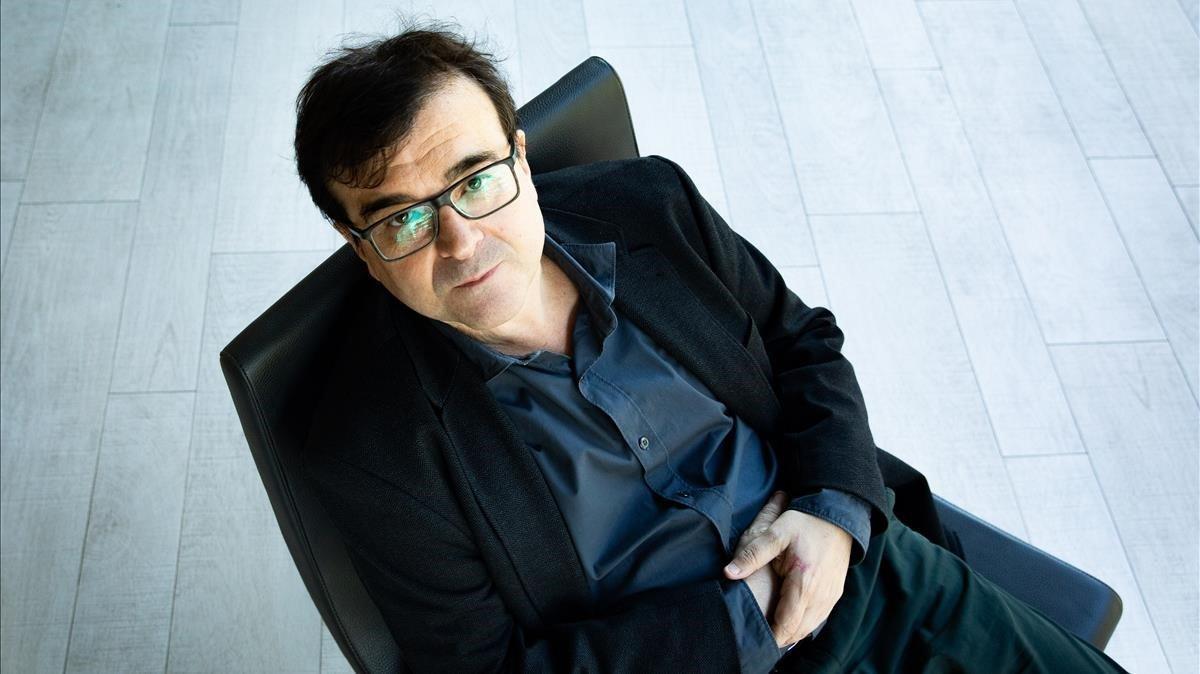 El escritor Javier Cercas.