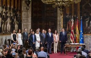 Pren possessió el Govern valencià, l'exemple amb què Unides Podem pressiona Sánchez