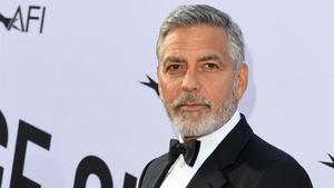 George Clooney arriba a La Palma per rodar 'Good morning, midnight'