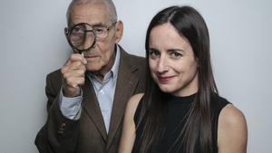 Sergio Chamy y Maite Alberdi, protagonista y directora de 'El agente topo'.