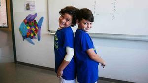 Així es preparen dos nens de 7 anys per al mundial de càlcul mental