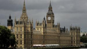 Vista del Parlamento británico, en Westminster (Londres).