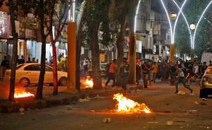 Nuevos enfrentamientos entre las tropas israelís y los manifestantes palestinos en Hebrón.