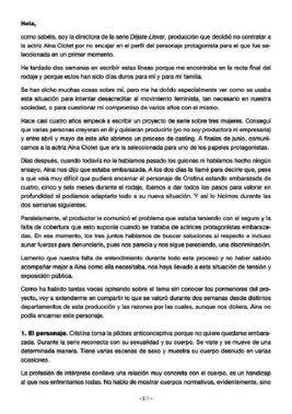 Comunicado de Leticia Dolera sobre el despido de la actriz Aina Clotet.