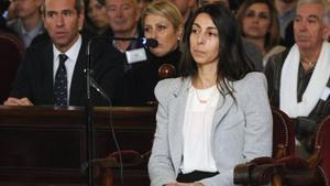 Raquel Gago declara durante el juicio, el 20 de enero pasado.
