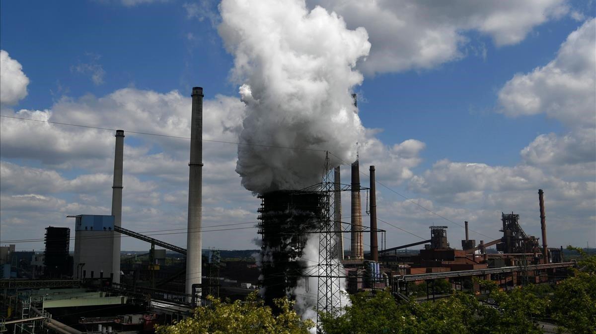 Planta de Duisburgo del conglomerado industrial de Thyssenkrupp.