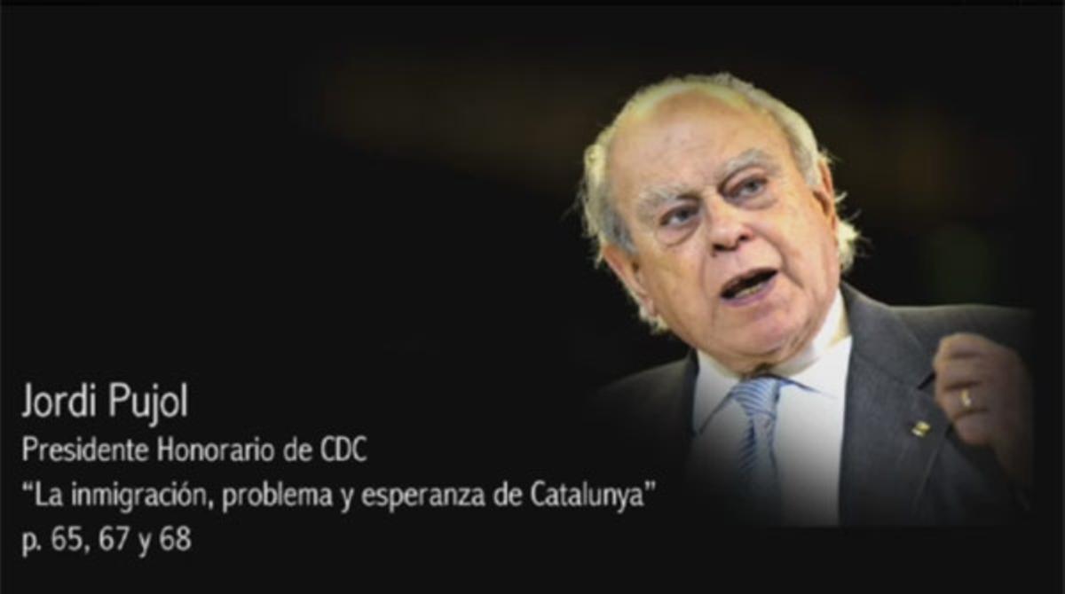 Vídeo de precampaña de Ciutadans sobre Pujol y los andaluces