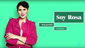 Rosa López, en una imagen promocional del programa de Ten 'Soy Rosa'.