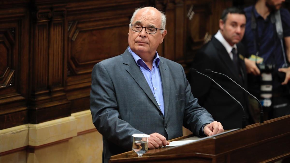 """Rabell avisa que """"soñando con Escocia no despertemos en el Ulster"""""""
