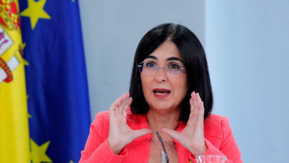 Carolina Darias, en una imagen de archivo.