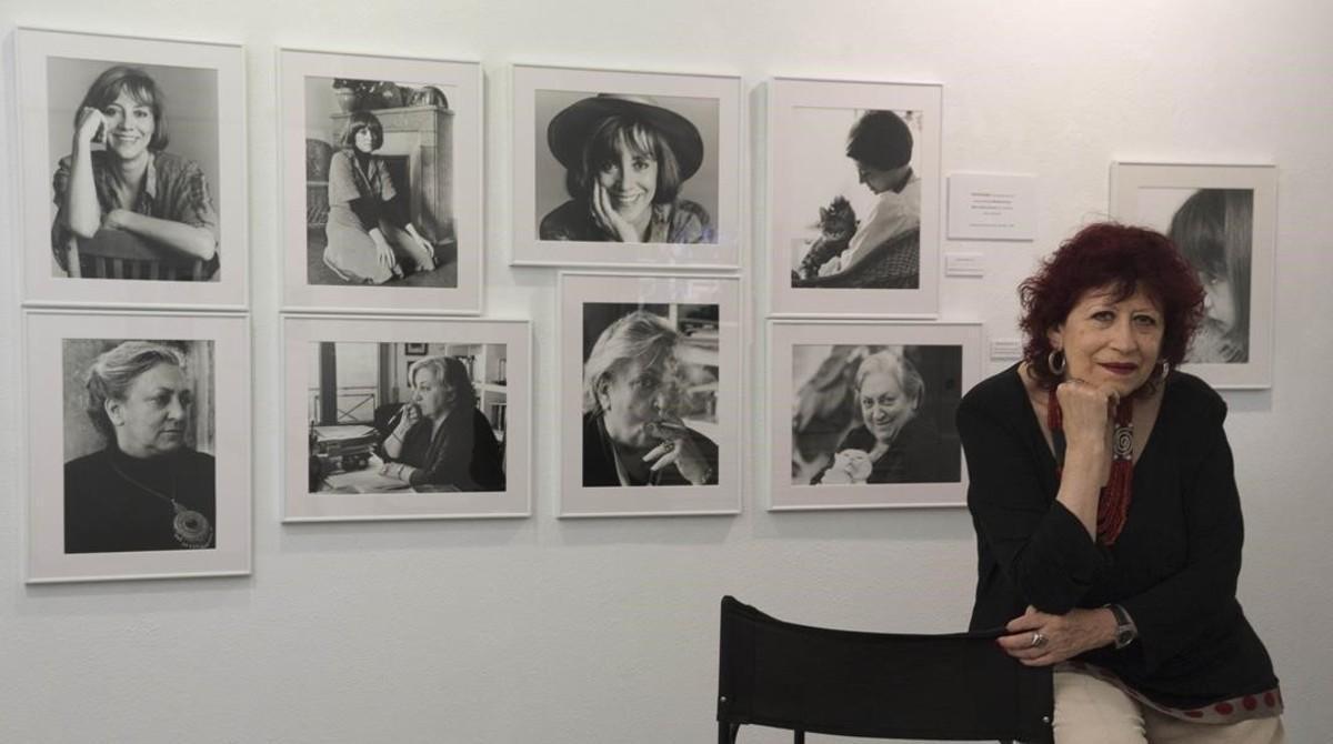 Pilar Aymerich, en la galería Eude.