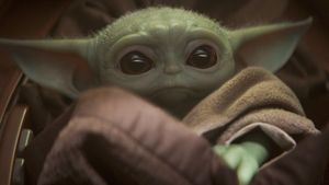 The Child, better known to audiences as Baby Yoda, is seen in an undated still image from the Disney+ series The Mandalorian provided to Reuters February 5, 2020.   Disney+/Handout via REUTERS       NO RESALES. NO ARCHIVES. THIS IMAGE HAS BEEN SUPPLIED BY A THIRD PARTY.