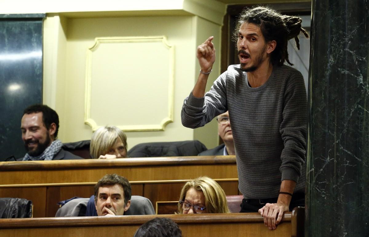 El Supremo condena a mes y medio de prisión al diputado de Podemos Alberto Rodríguez