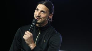 Zlatan Ibrahimovic, en un acto publicitario en París.