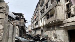 Armenia y Azarbaiyán mantienen duros enfrentamientos desde el 27 de septiembre en torno al territorio de Nagorno Karabaj.