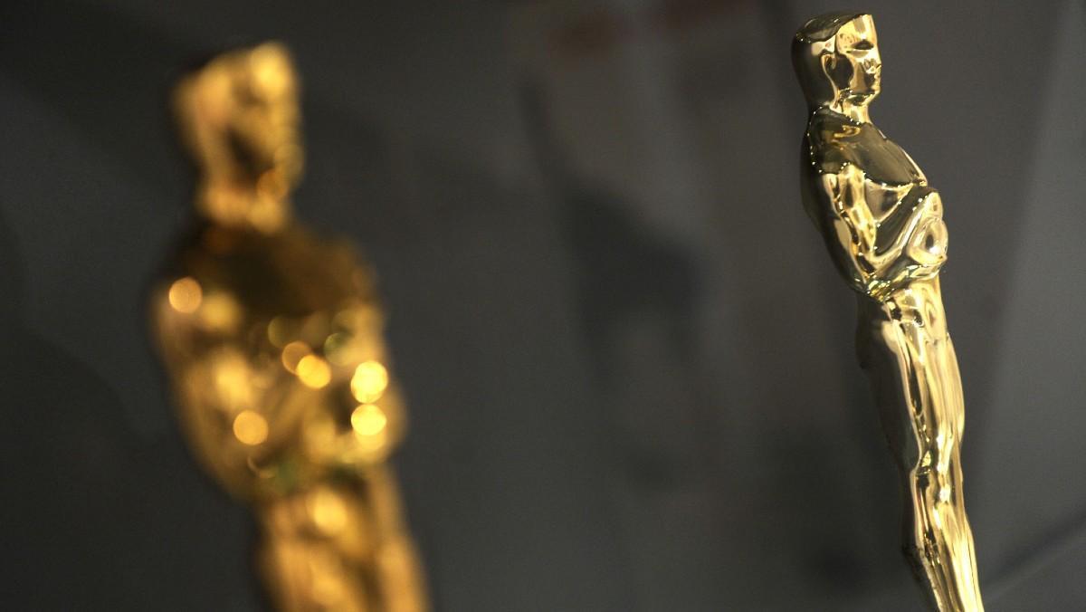 Estatuilla de los Premios Oscar.