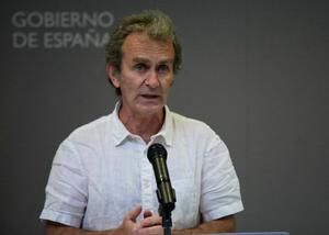 Fernando Simón, en el Ministerio de Sanidad