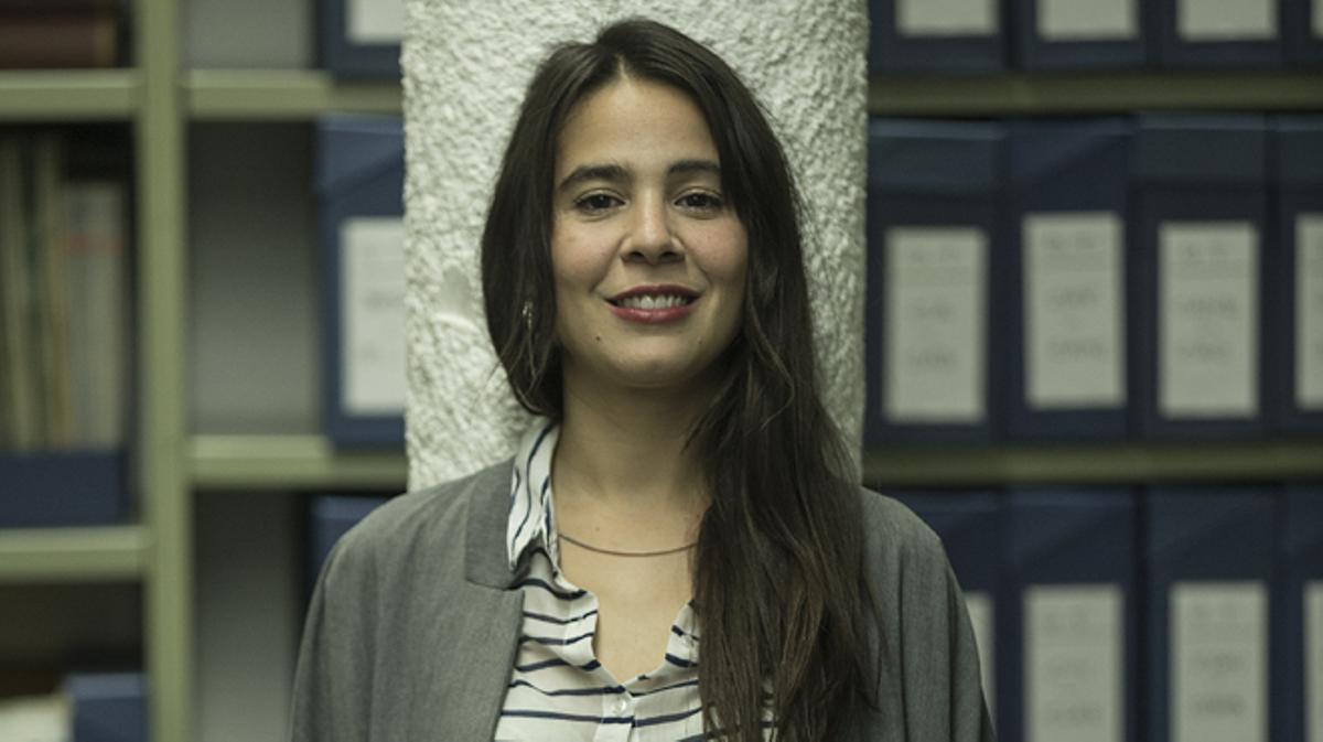 Interpreta a Clara (Inspirada en Inés Arrimadas): 'Estoy muy contenta con la evolución del papel de Clara y delresultado de la serie'.