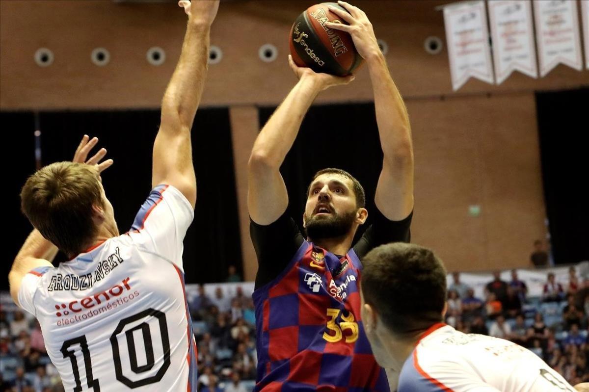 Mirotic, fichaje de lujo del Barça, es una de los nombres a seguir en la Euroliga