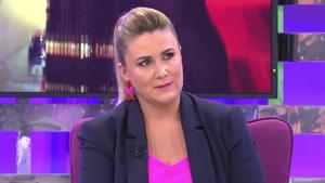 Carlota Corredera en 'Con M de Mujer', la sección de 'Sálvame'.
