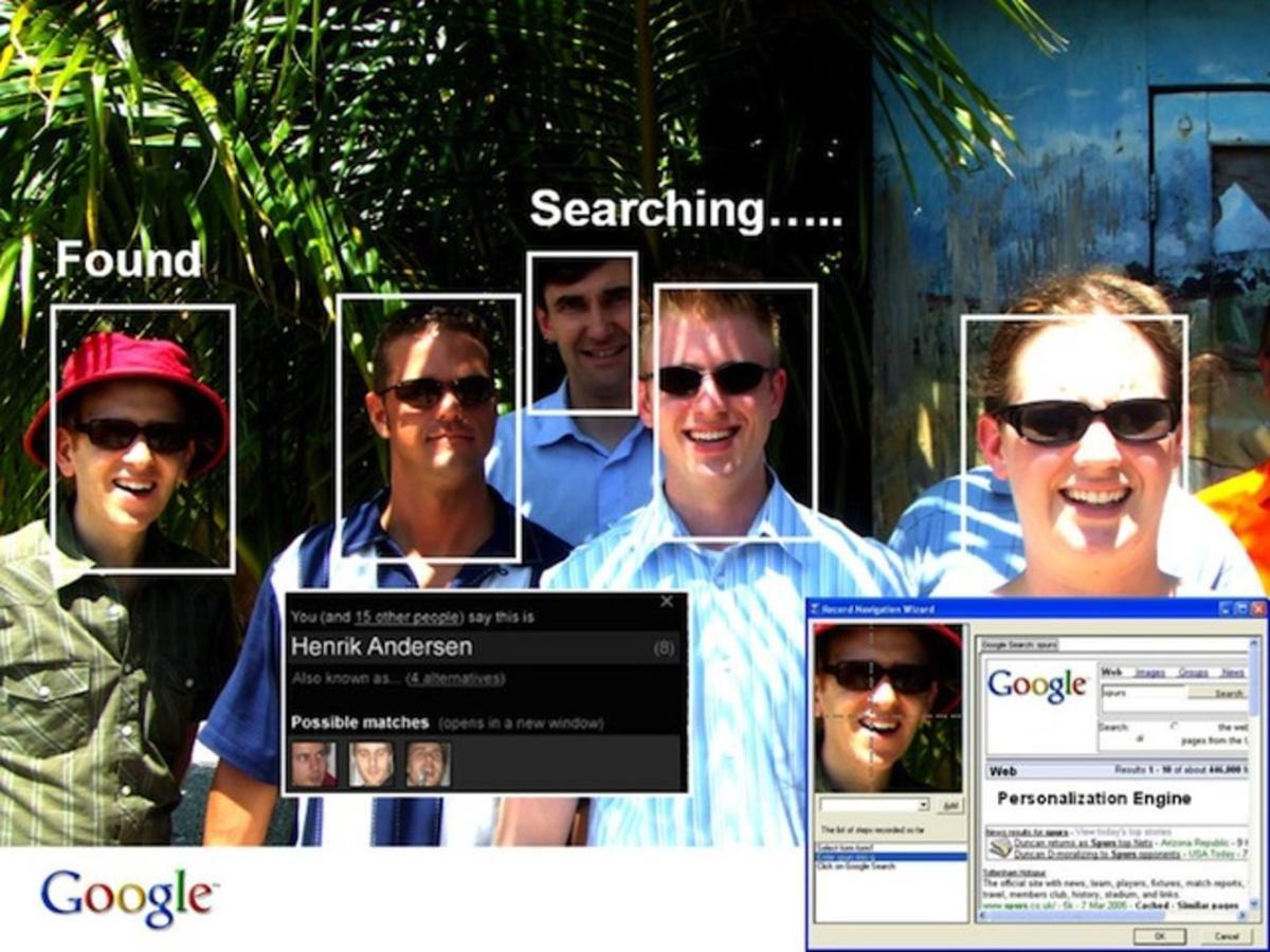 Google había subcontratado una empresa para recabar imágenes tridimensionales de las caras de distintas personas.