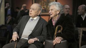 Jordi Pujol y Marta Ferrusola, en una imagen de febrero del 2020