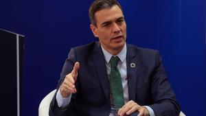 El presidente del Gobierno, Pedro Sánchez, en un encuentro el 20 de enero del 2021.