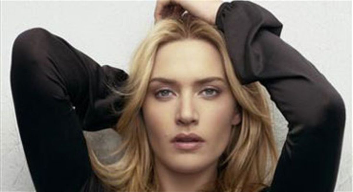 La actriz Kate Winslet.