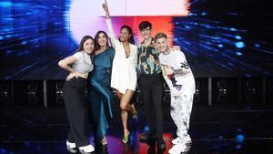 Eva, Anaju, Nía, Flavio y Hugo, los cinco finalistas de 'OT 2020'.
