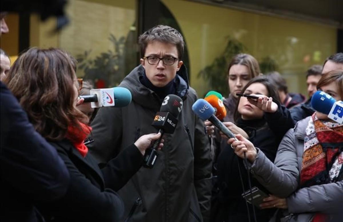 Errejón afirma que Podemos apoyaría un referéndum unilateral si no pudiera pactarse