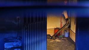 Fallecen tres inmigrantes en el incendio de una cochera en Jaén