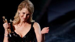 Oscars 2020. Laura Dern se lleva el Oscar a mejor actriz de reparto.
