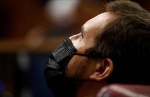 El presidente del PP, Pablo Casado, en una imagen reciente en el Congreso de los Diputados