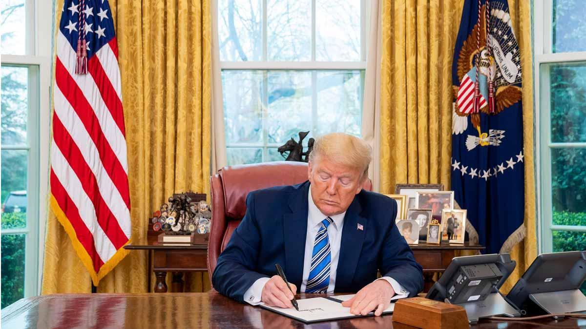 Trump suspende 30 días los viajes desde Europa a Estados Unidos por el coronavirus.