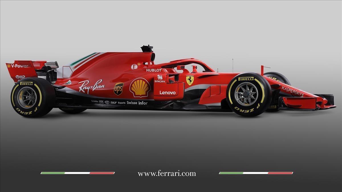 El nuevo Ferrari SF71H.