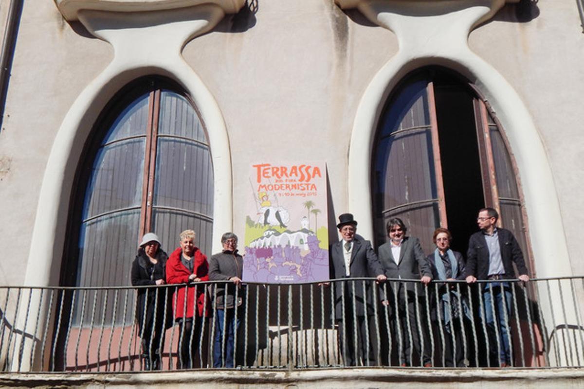 El Ayuntamiento de Terrassa presenta el cartel de la XIII Fira Modernista