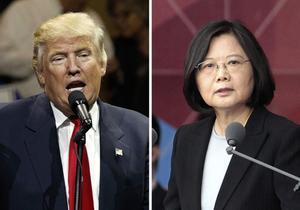 Trump desafia la Xina parlant amb la presidenta de Taiwan