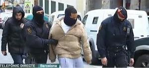 Uno de los detenidos en la operación de los Mossos contra las bandas latinas.