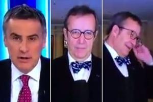 El presidente de Estonia se enfada con un periodista que dijo mal su nombre