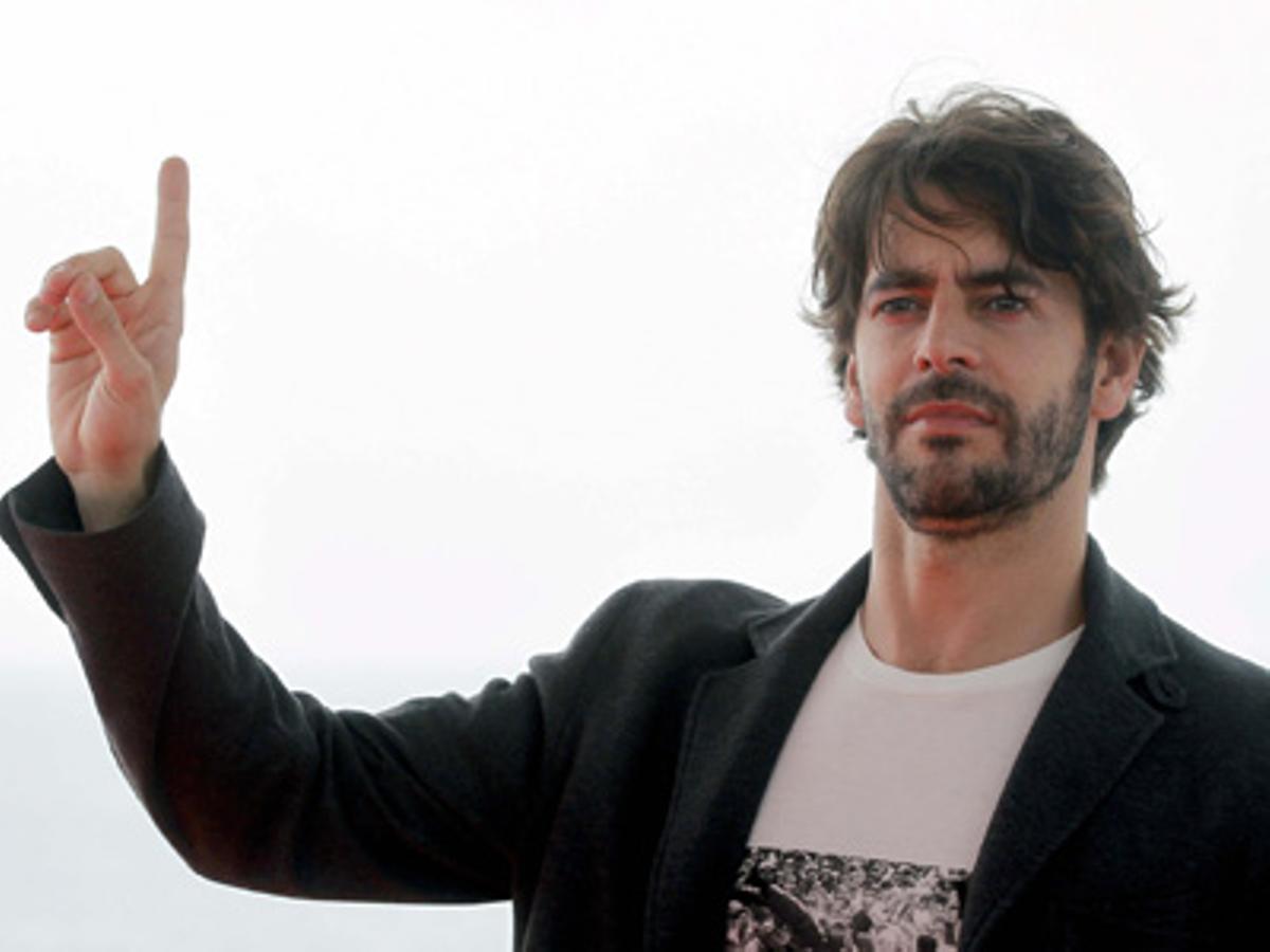 El actor santanderino se ha convertido en el protagonista del día con la presentación de Agnosia