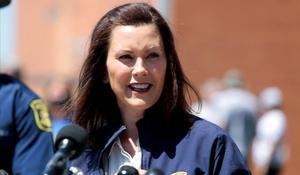 La gobernadora de Michigan, Gretchen Whitmer.