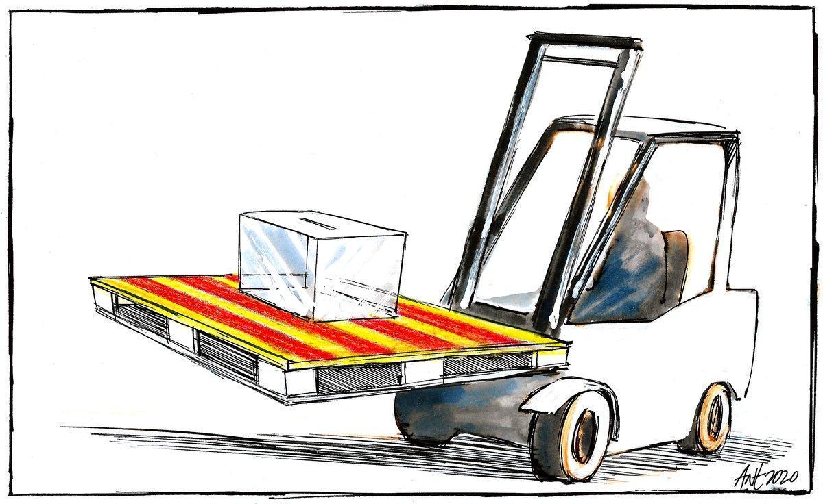 Catalunya i la reconstrucció