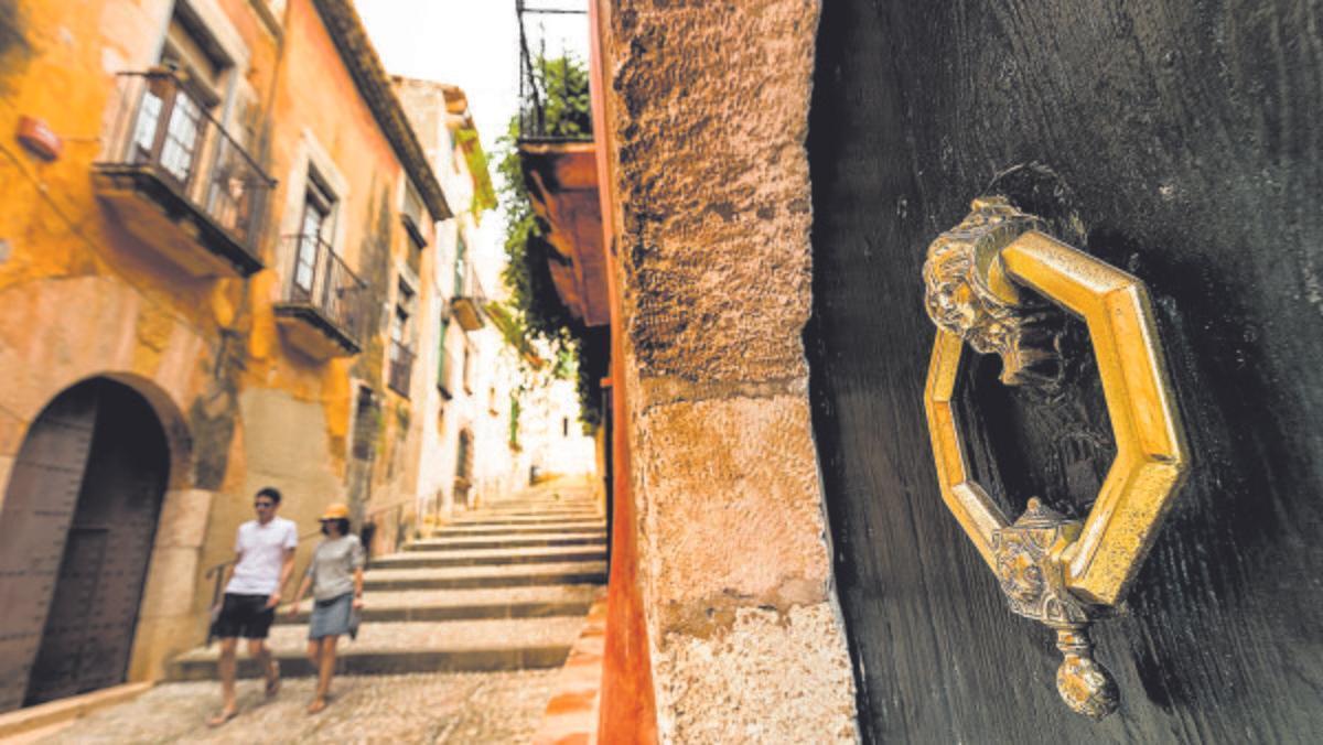 Las callejuelas del núcleo antiguo de Altafulla recorren un enclave cargado de historia y encanto