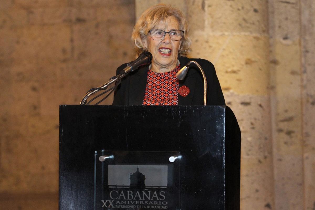 La alcaldesa de Madrid Manuela Carmena.