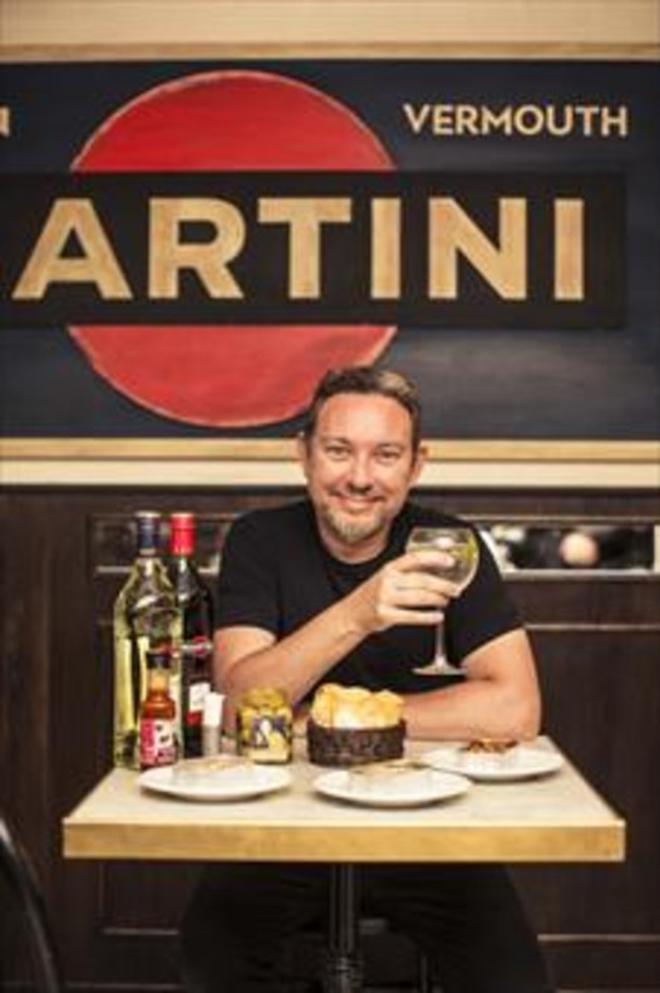 Albert Adrià preparará aperitivos en la Terrazza Martini.