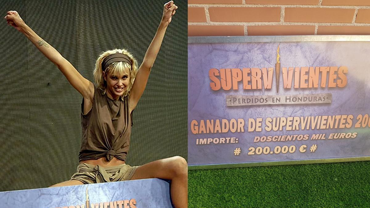 Miriam Sánchez pone a la venta su título de ganadora de 'Supervivientes 2008'