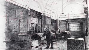 El carbonet vibrant de William Kentridge agafa el timó al CCCB