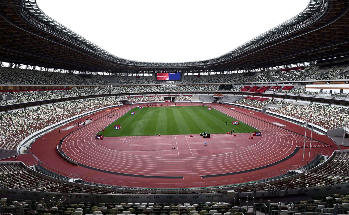 El estadio olímpico de Tokio.