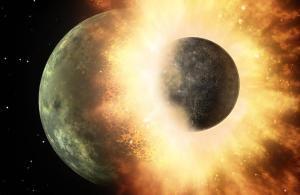 Una col·lisió planetària va portar els ingredients per a la vida a la Terra