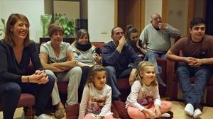 Imatge de l'especial d''El foraster' de TV-3, en què el programa entrava a casa dels protagonistes.
